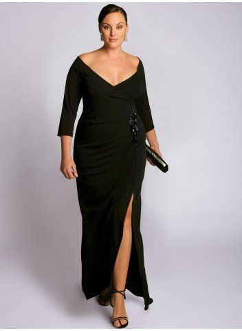 Garbo Gown-I have the hips, but if I just didn't have the stomach.