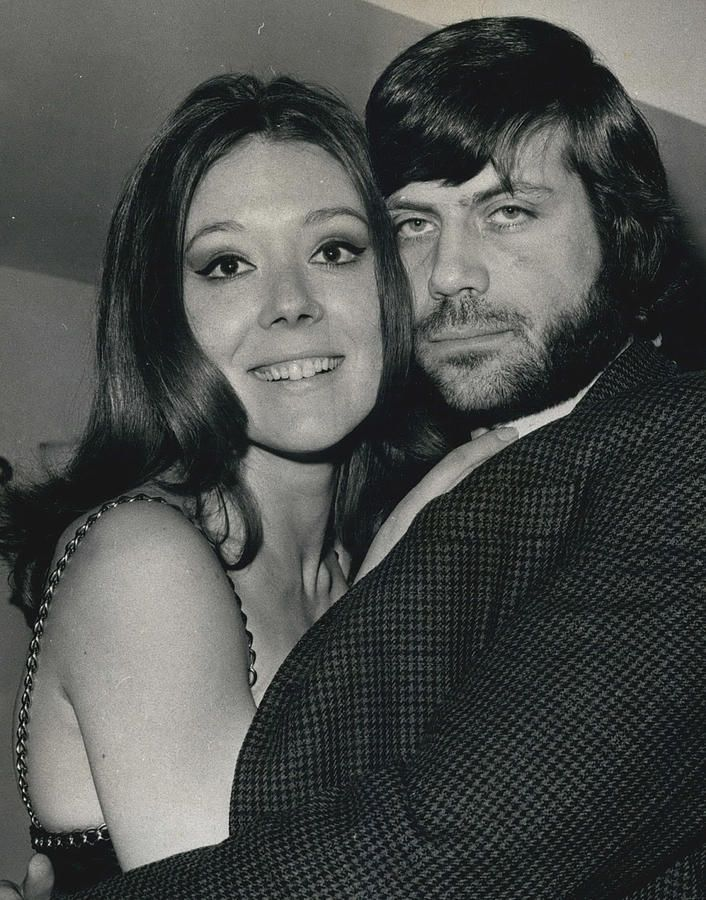 PHOTO SHOWS: DIANA RIGG and her co-star Oliver Reed SEEN DURING THE RECEPTION AT THE HILTON this morning. Description from pixels.com. I searched for this on bing.com/images