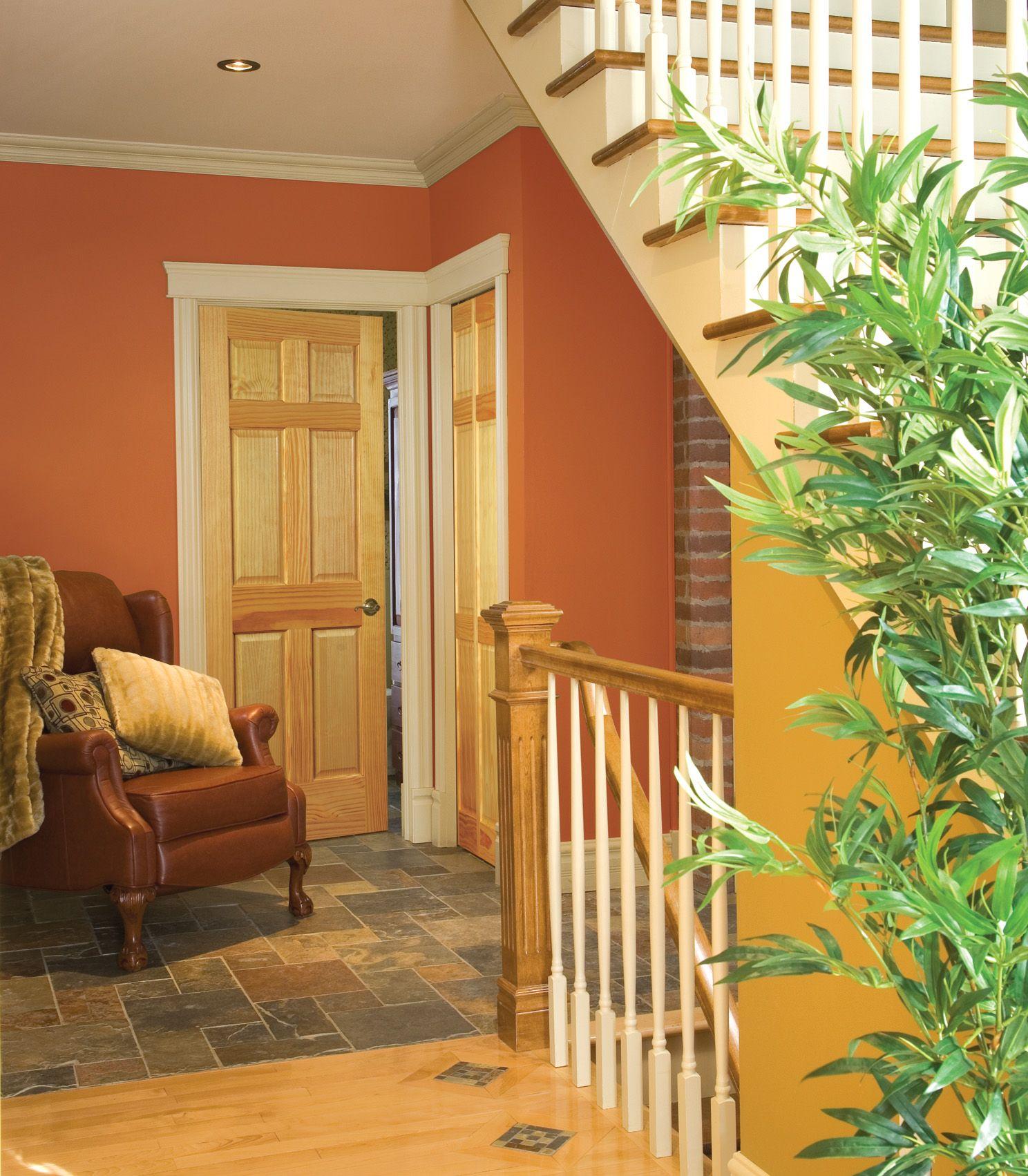 { 6 Panel Pine Interior Door } #forthehome #diy #remodel #homes #dreamhome #doorbuy #homeimprovement #pine