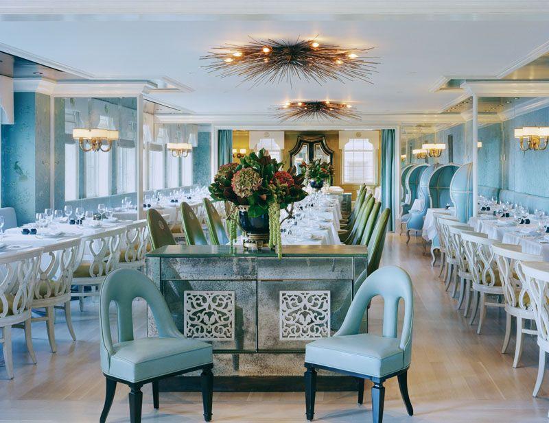 Bergdorf Goodman - bg, the divine restaurant on the 7th floor designed by  kelly wearstler. Restaurant Interior DesignRestaurant ...