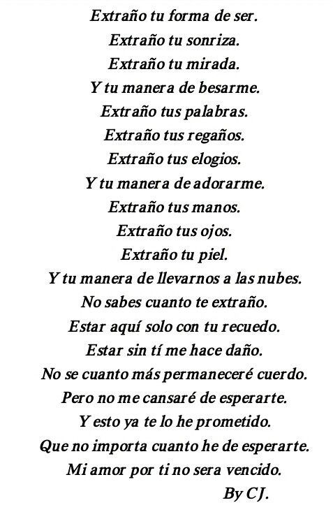 Te Extrano Amor Mio Poemas En Espanol Pinterest Love Me