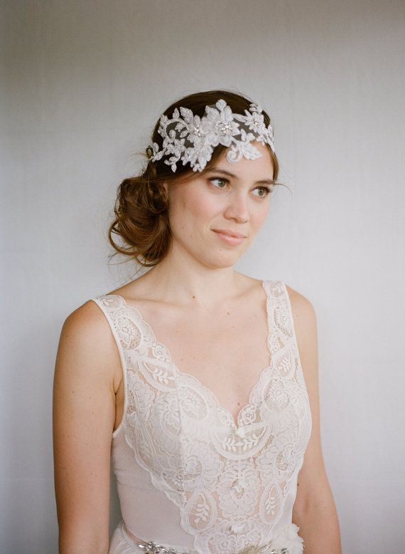 Crystal Bridal Headpiece, Rhinestone Headband, crystal heapiece