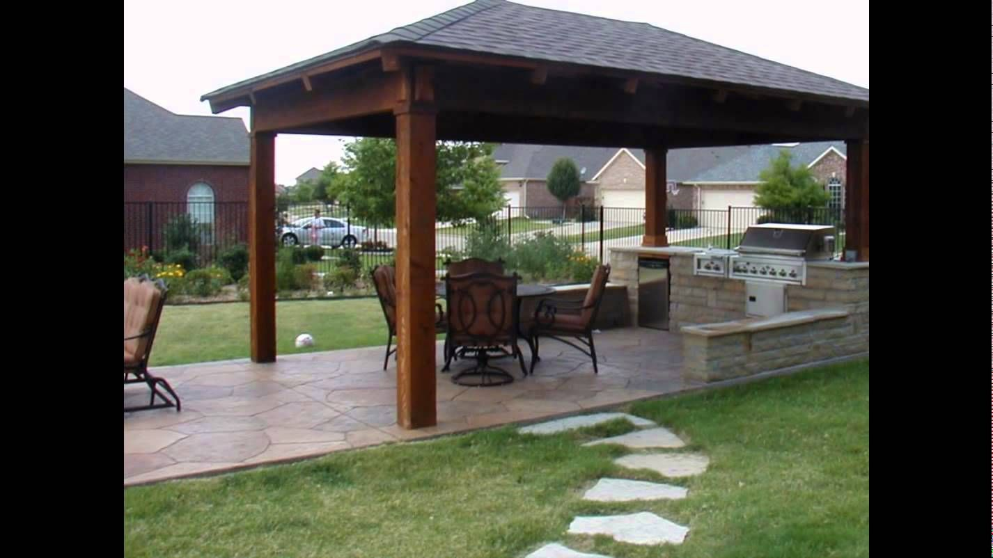 10 Backyard Patio Roof Ideas Most Of The Extravagant As Well As Refined Too Pergola Patio Pergola Outdoor Pavilion