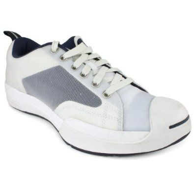 c7243e967ee7 Converse Jack Purcell EVO Sport Mens Tennis Shoe White Navy Grey Converse.   59.95