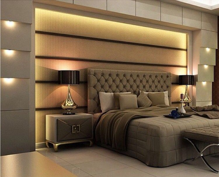 Pin By Saba Khan On Double Bed Habitaciones De Lujo Decoracion De