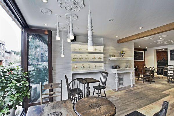 De Farine and Deau Fraiche Montreal #interiordesign