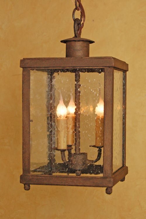 Bellagio Lantern Hanging By Laura Lee Designs. Custom Hand Forged Wrought  Ironu2026