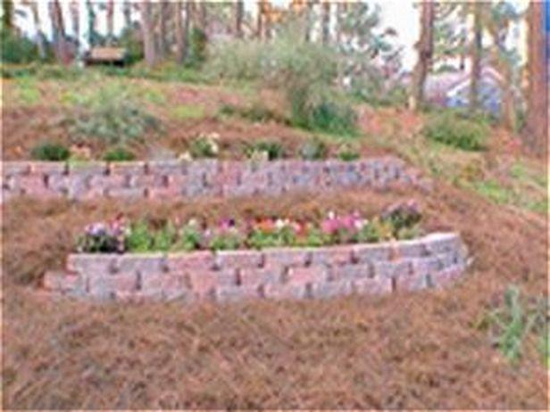 Diy terracing a slope terraced gardens side yard for Terrace vegetable garden ideas in tamil
