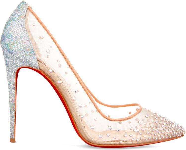 de8b074e446 CHRISTIAN LOUBOUTIN Follies strass 100 rete/glitter | Fashion ...