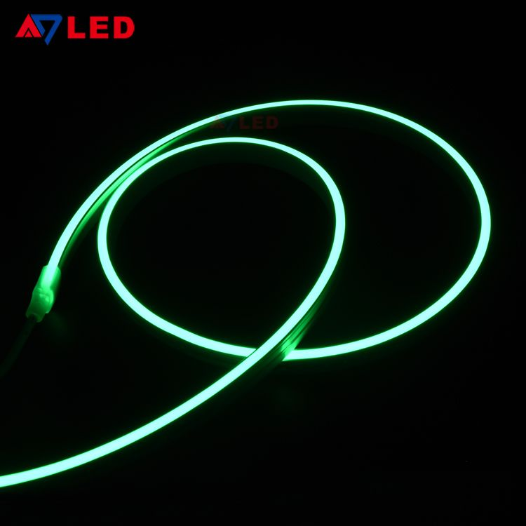 Led Neon Flex Light Silicon Strip Flexible Silicone Tube Smd3528 120leds M Ul Approval Led Rope Lights Led Neon Lighting Neon Tube Lights