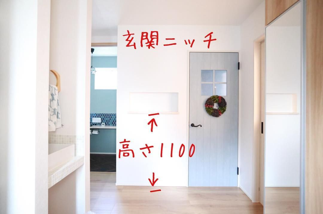 Yukikoさんはinstagramを利用しています 記録用 玄関ニッチ 床