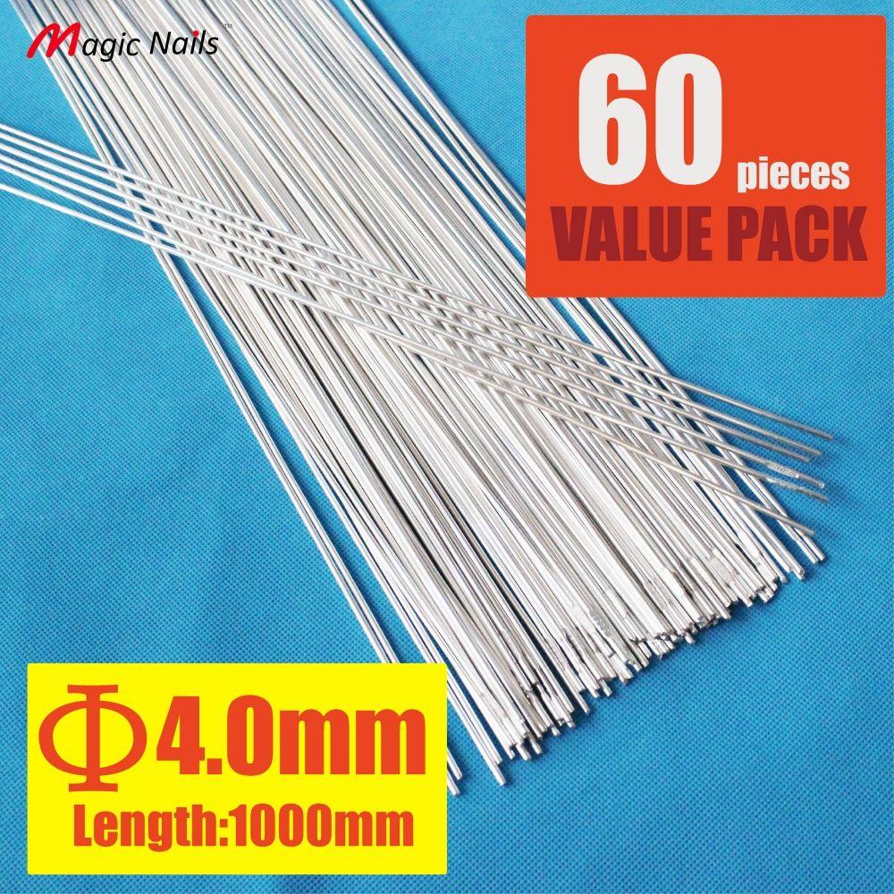 Pack of 60 low temperature rods 5356 aluminum tig filler