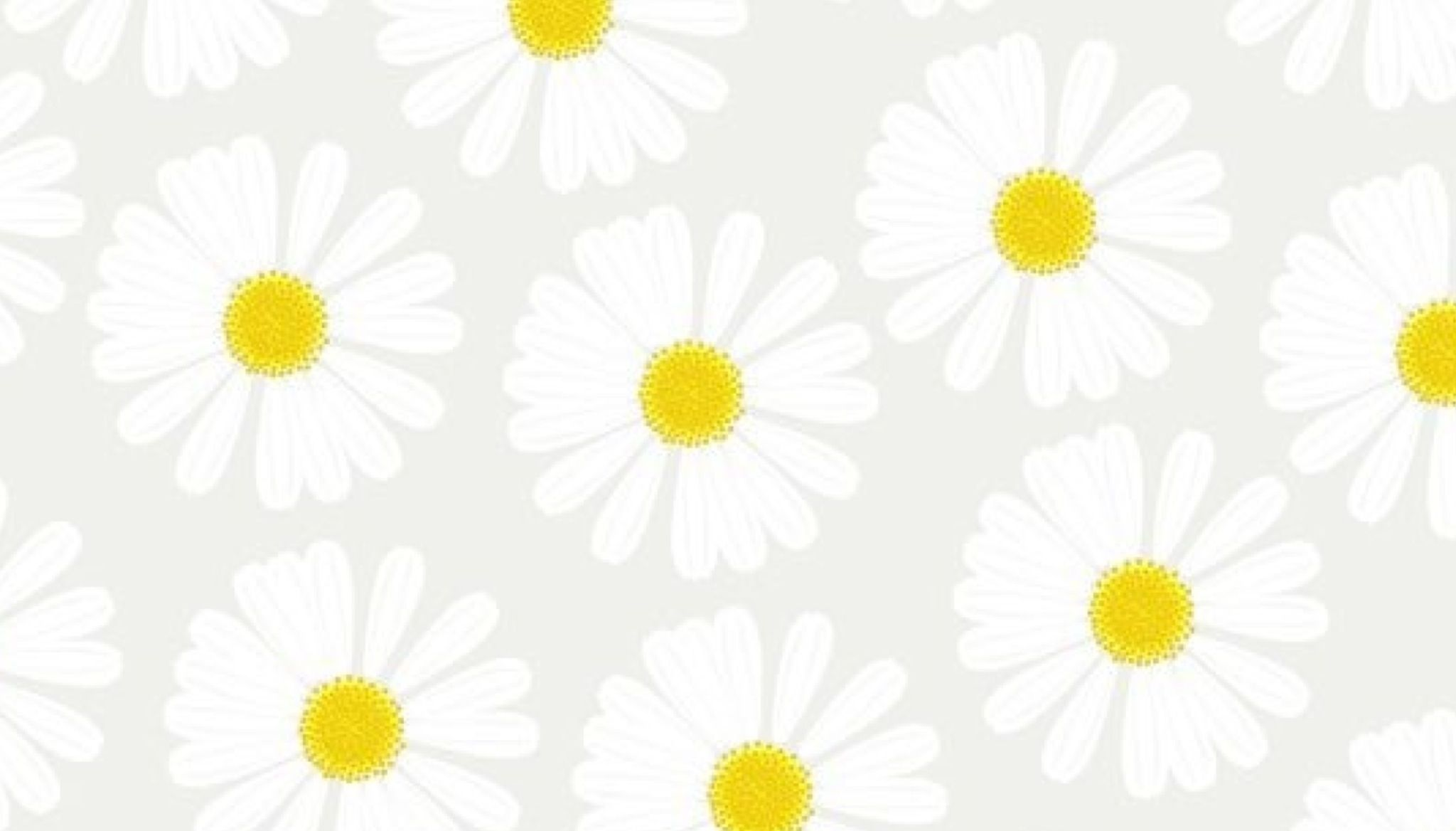 Daisy pattern wallpaper - photo#35