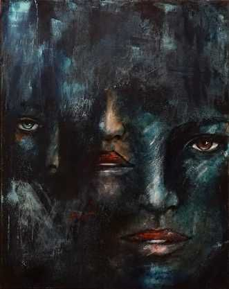 Name: Øje, næse, mund Artist: Dimo Poulsen Gallery: Kunstsamlingen Height: 90 cm Width: 70 cm Price: 4500 kr. #kunstsamlingen #kunst #artcollection #art #painting #maleri #galleri #gallery #onlinegallery #onlinegalleri #kunstner #artist #danishartists #dimopoulsen