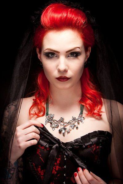 Gallery gothic redhead