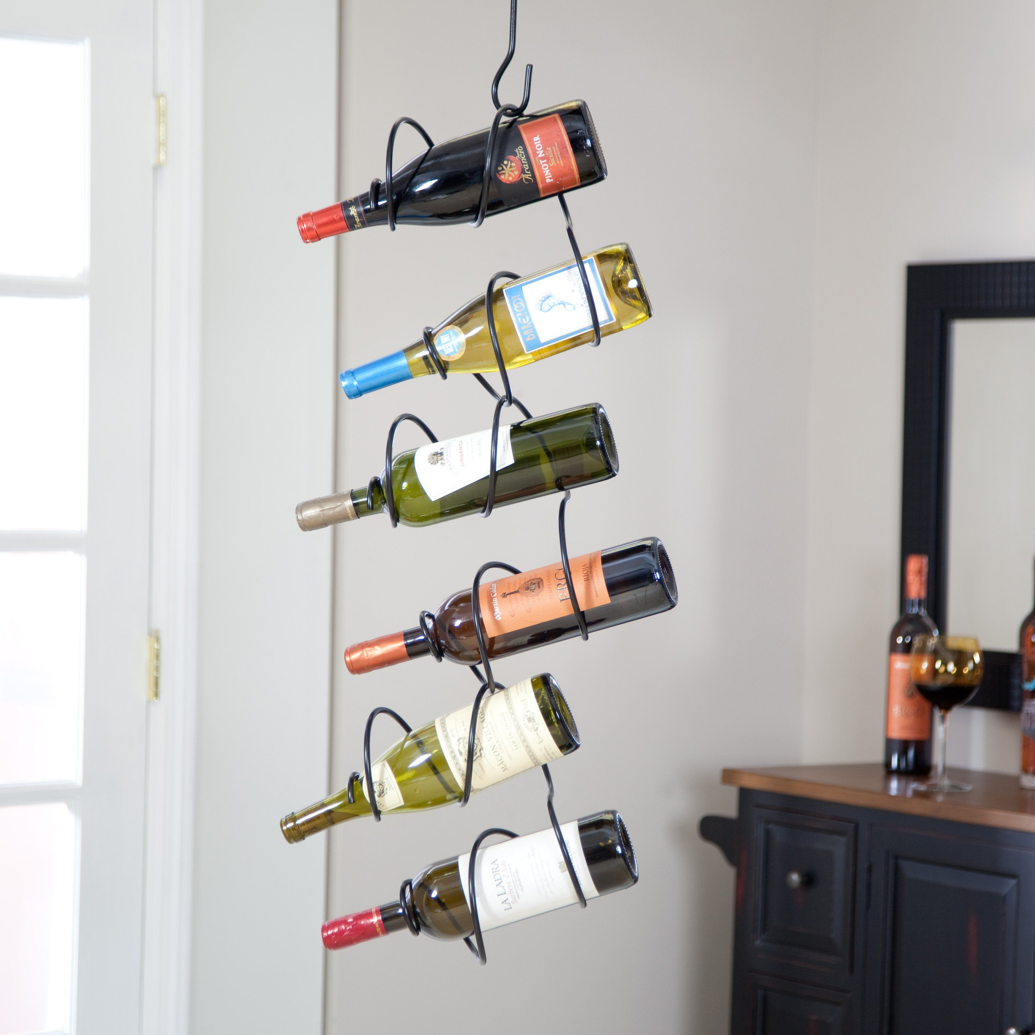 Oenophilia Climbing Tendril 6 Bottle Wine Rack 010045 Products