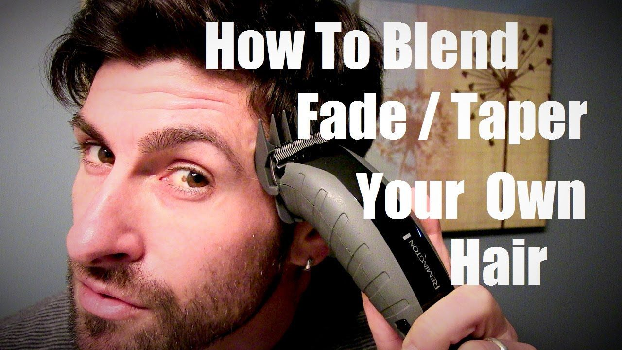 48++ How to do a taper fade on yourself ideas
