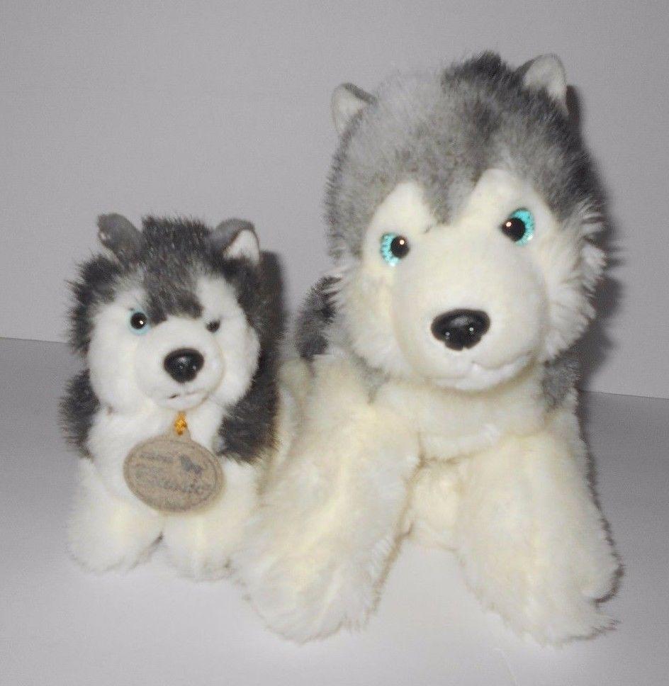 Aurora Husky Samoyed Malamute Puppy Dog Classic Stuffed Animal Plush