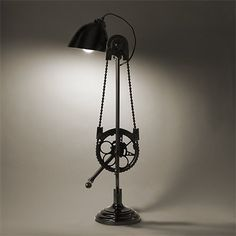 Upcycled Bike Sprockets Google Search Upcycled Lights Lamps