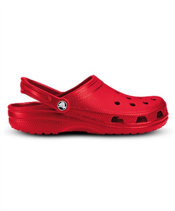 21701427c4a52 CROCCLAS Crocs™ CLASSIC Unisex Clog in Red  29.99  http   www.uniformadvantage