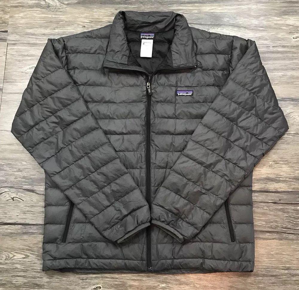 Patagonia Goose Down Puffer Coat Mens Sz M / eBay Down