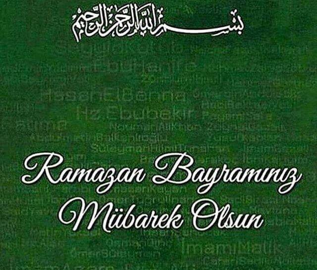 Resimli Ramazan Bayrami Mesajlari Cok Iyi Abi Prayers Arabic Calligraphy