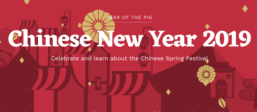 Chinese New Year 2019 Asian new year, Year of the pig