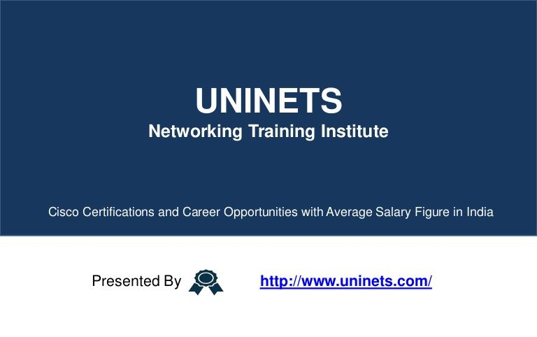 Cisco certifications and its career opportunities with