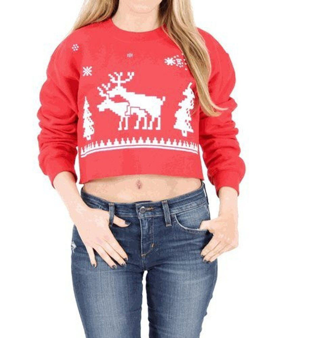 Pin On Women S Ugly Christmas Sweaters [ 1280 x 1177 Pixel ]