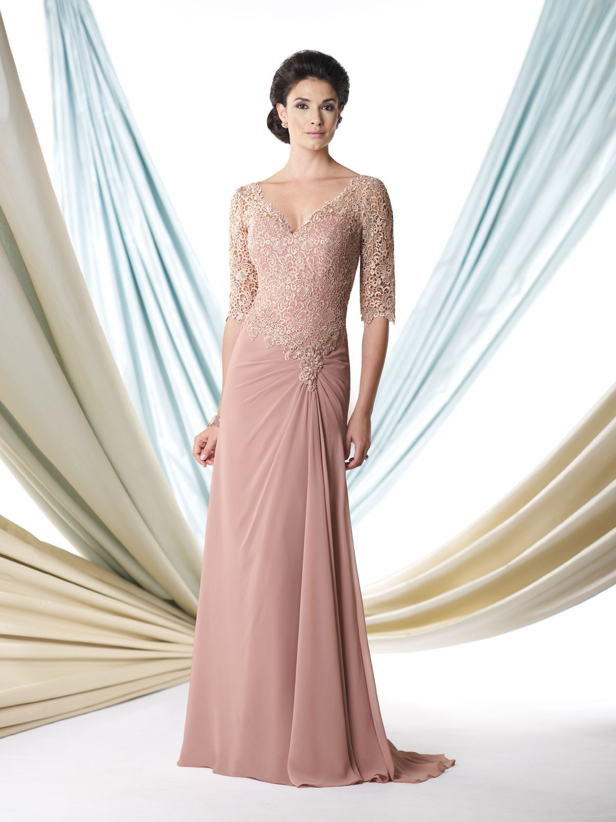 Rose Pink Mother of the Bride Dresses