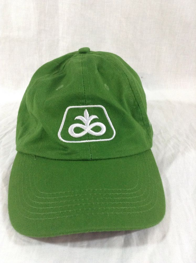 b80906d7f6f Pioneer Seed DuPont Hat Adjustable Farm Cap Green  DuPont  BaseballCap