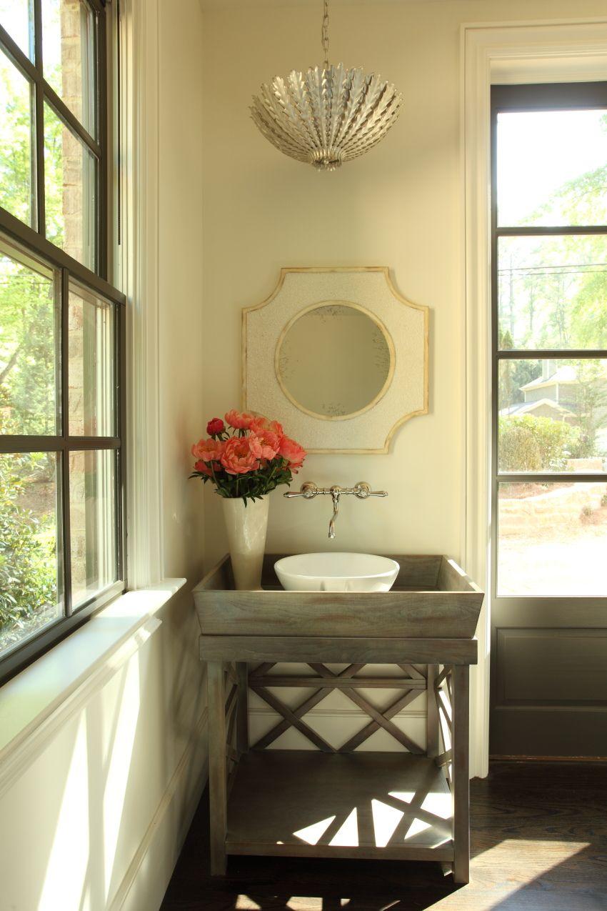 Hedgewood home, powder bath, Chastain Park, Atlanta, GA ...