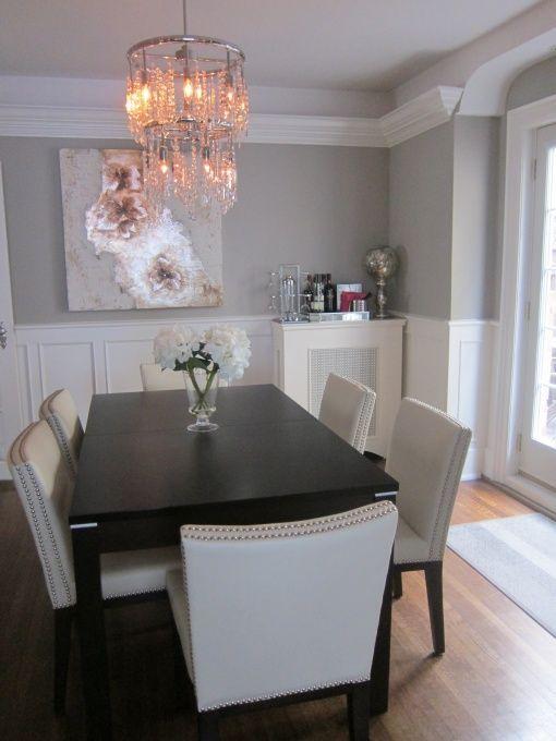 Dinning Room Ideas Decoracion De Comedores En Blanco Y Negro 17