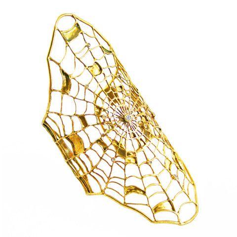 Filled Spider Web Bracelet