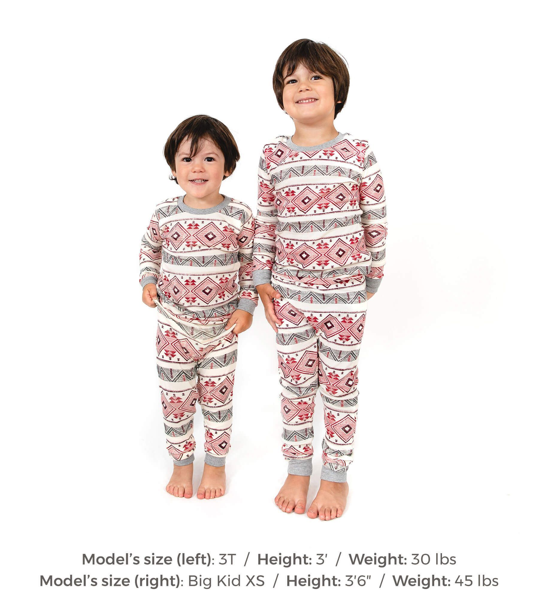 Aspen Cabin Organic Toddler Holiday Matching Family