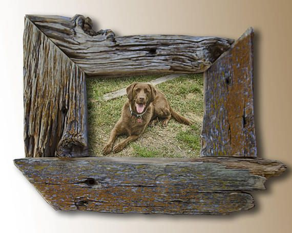6x8 Real Reclaimed Barn Wood Picture Frame Barn Wood Picture