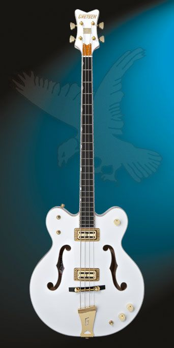 Gretsch White Falcon Hollow Body Bass