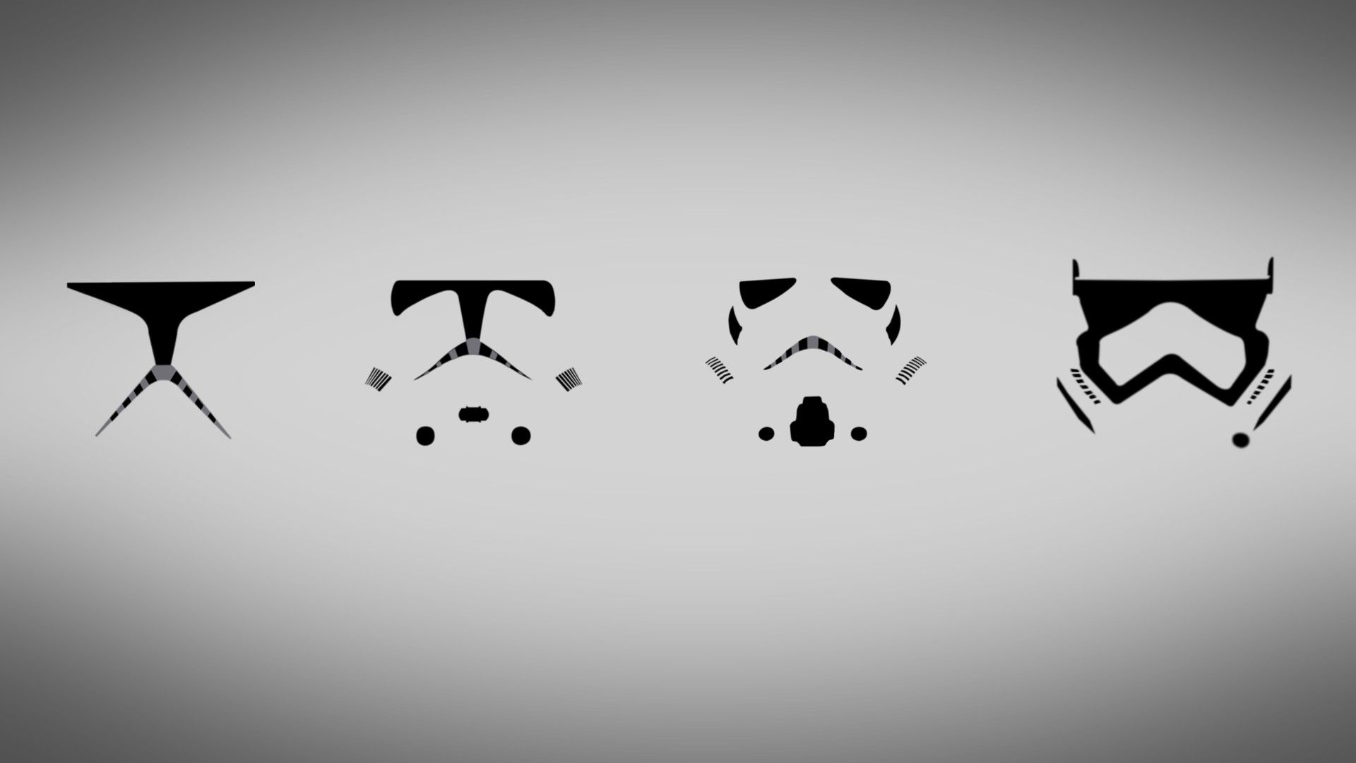 Star Wars Stormtrooper Simple Clone Trooper Minimalism Wallpaper No 93783 Wallpaper Tumblr