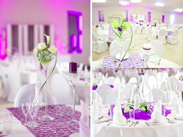 Hochzeit tischdekoration modern