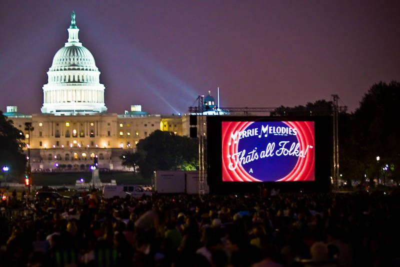 What Are The Major Annual Events On The National Mall Screen On