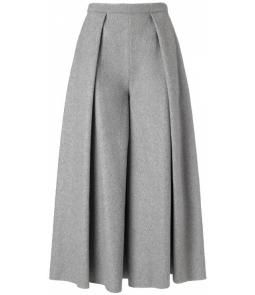 Grey Wool Calra Culottes