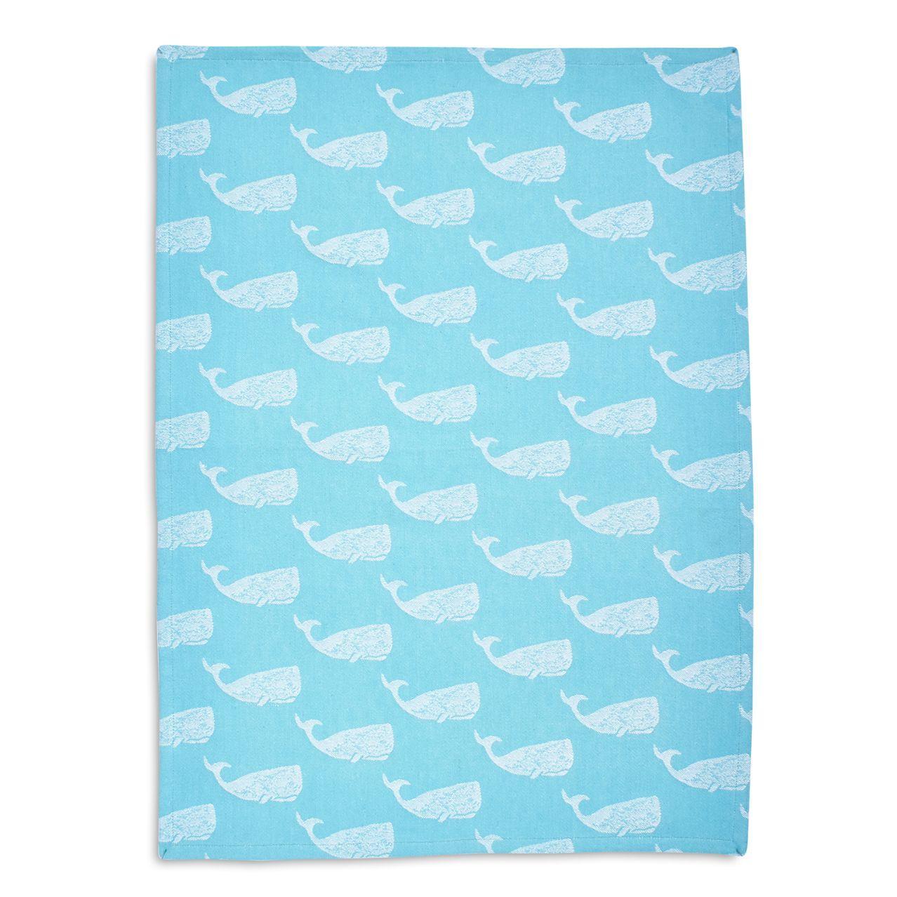 Whale Jacquard Kitchen Towel Kitchen Towels Nautical Kitchen Sur La Table