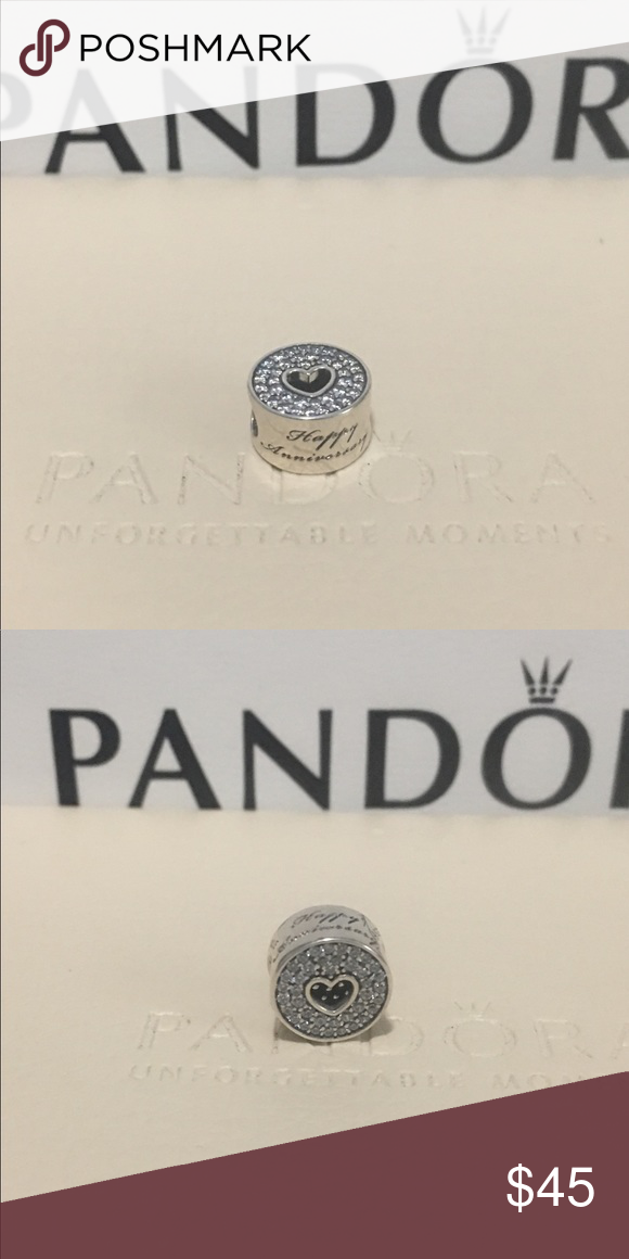 cfa4c5000 ... shopping authentic pandora anniversary celebration charm authentic  pandora anniversary celebration charm item number 791977cz comes with