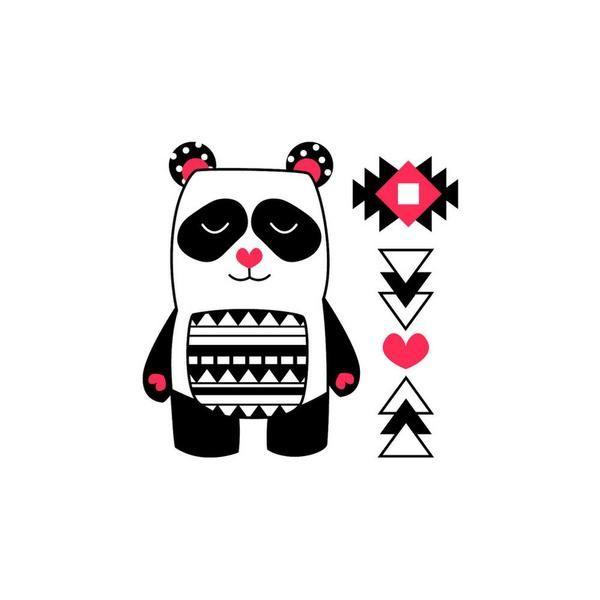 Tatouage Alex le SUPER Panda - Pico Tatoo