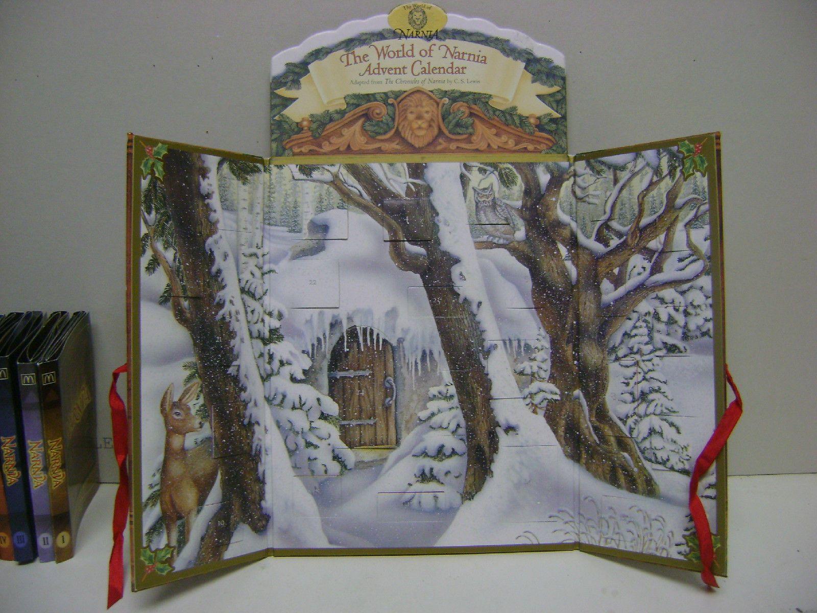 The World Of Narnia Advent Calendar 1998 Open