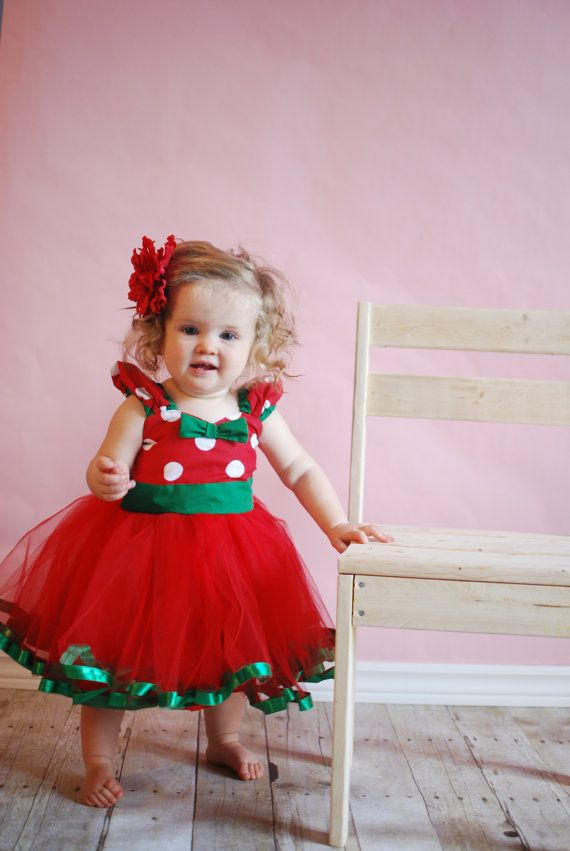 Christmas MINNIE MOUSE dress tutu by loverdoversclothing on Etsy  sc 1 st  Pinterest & Christmas MINNIE MOUSE dress tutu by loverdoversclothing on Etsy ...