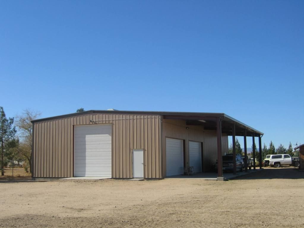 Metal shop buildings with living quarters google search for 40x80 steel building