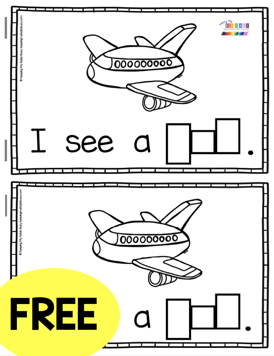 Free Phonics Mini Book For Teaching Short Vowels Cvc Words Kindergarten First Grade In 2020 Cvc Words Kindergarten Guided Reading Kindergarten Phonics Kindergarten [ 1198 x 922 Pixel ]