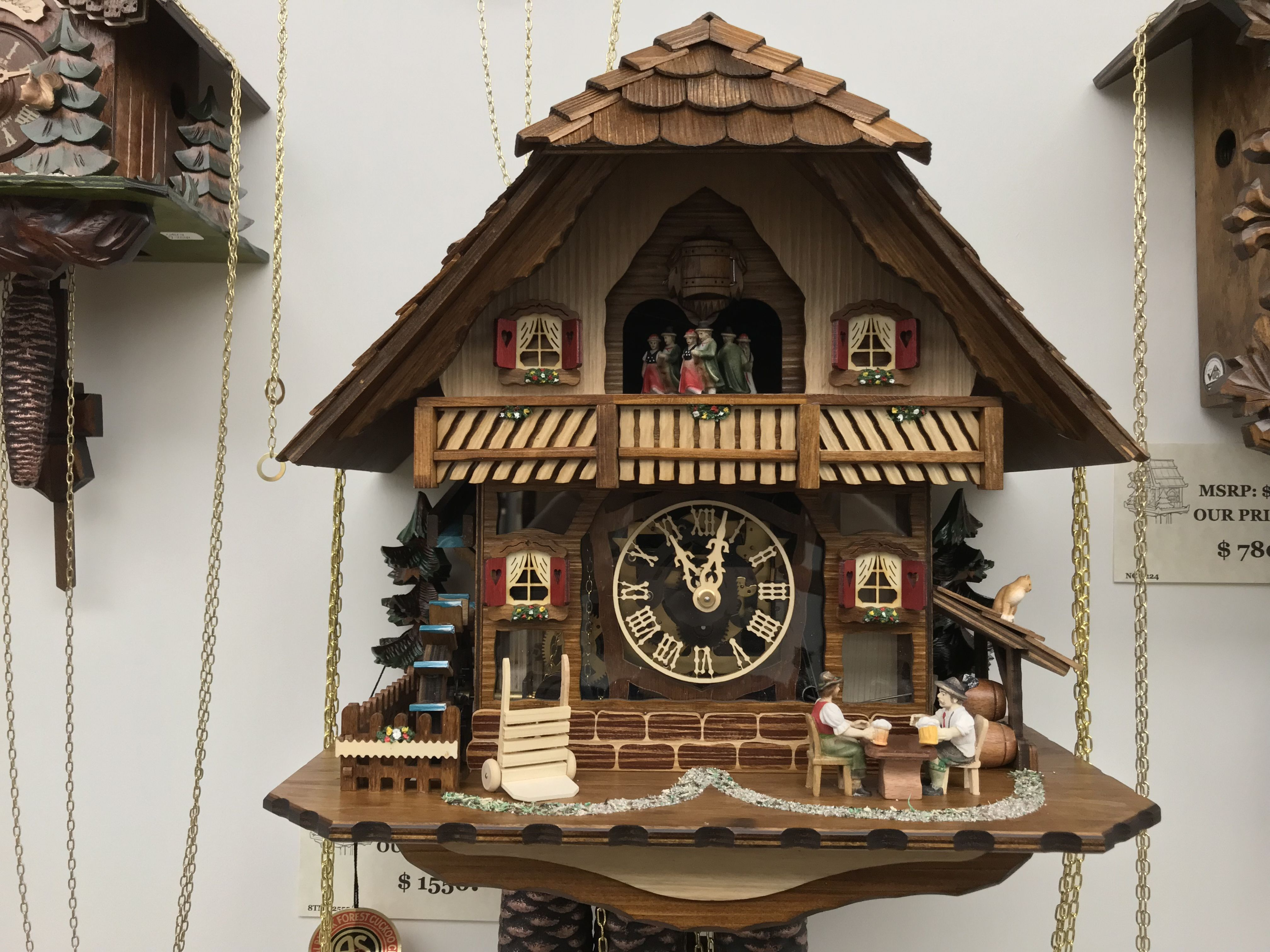 Pin By Mcguire S Clocks On Black Forest Cuckoo Clocks Cuckoo