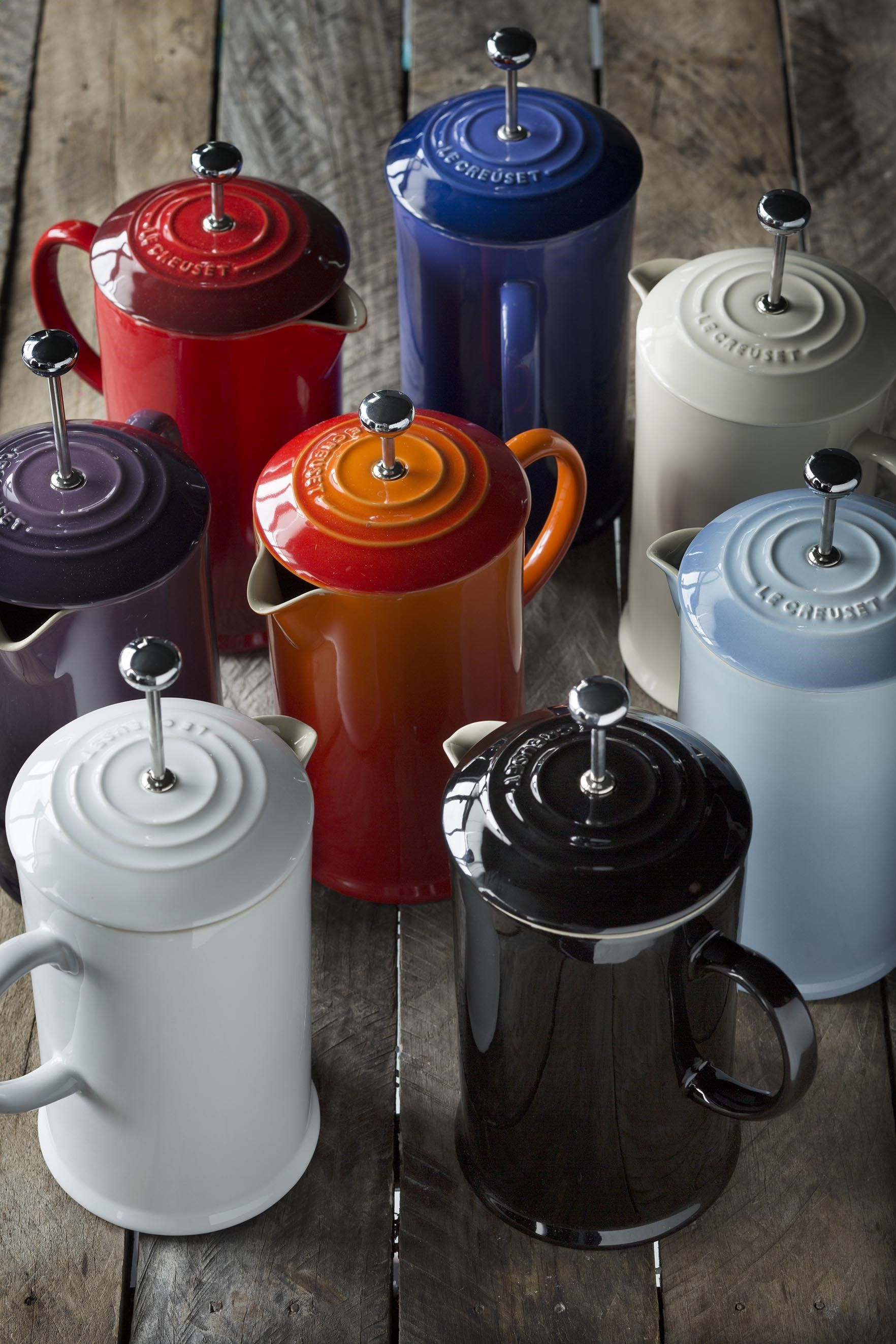 Coffee plungers coffee press vintage coffee le creuset